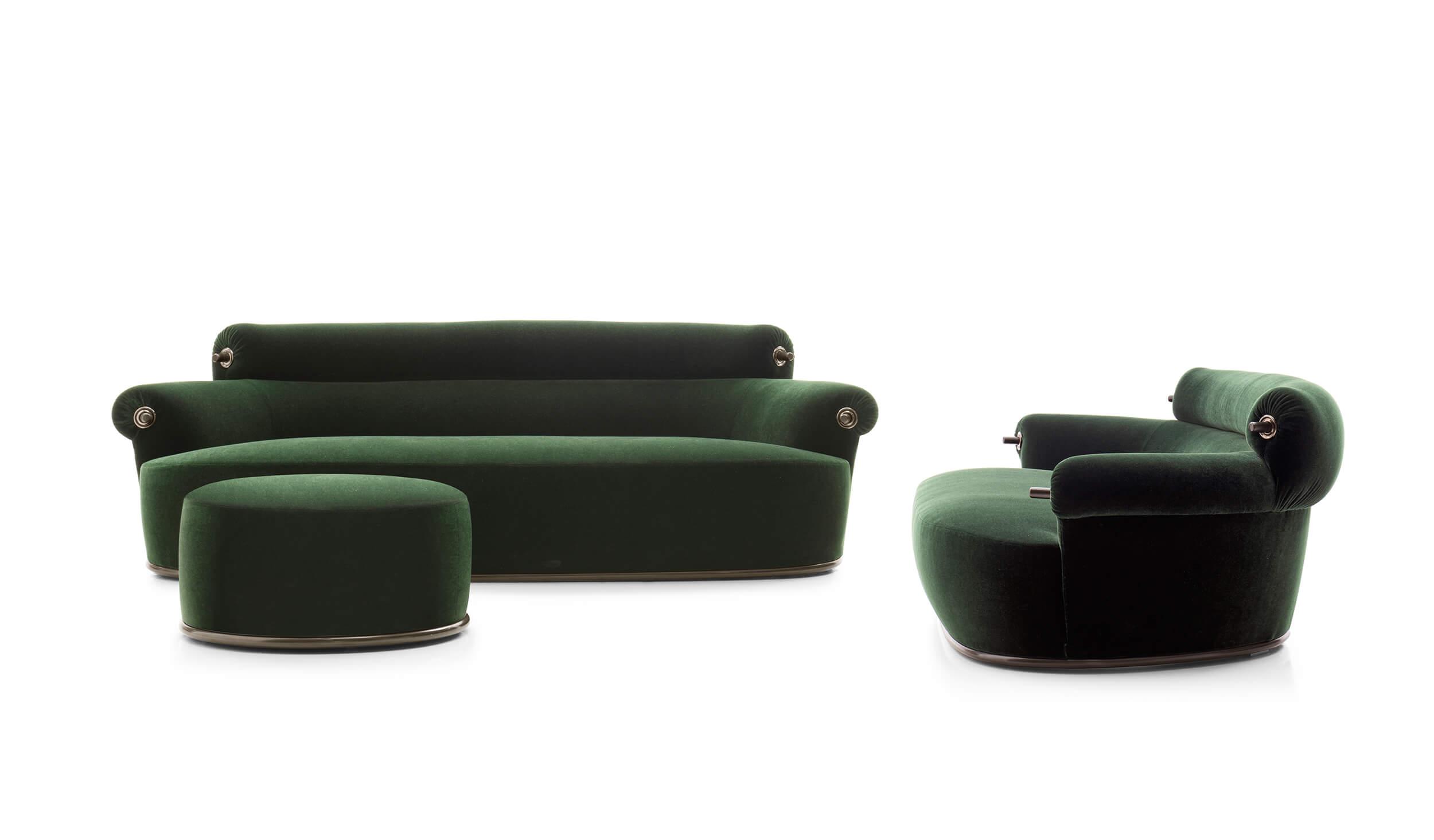 Poltrona divano e pouf toro